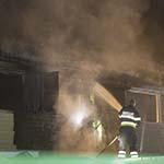 Vrouw gewond bij woningbrand aan de Bosstraat in Nieuw-Vennep