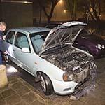 Auto, motor en scooter in de brand gestoken in Haarlem