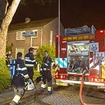 Woningbrand in de Prinses Marijkestraat in Hoofddorp
