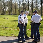 Man gewond na steekpartij in Schoterbos in Haarlem