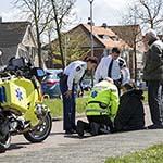 Vrouw gewond na val van fiets op de Hagelingerweg in Santpoort-Noord