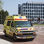 Vrouw gewond na val van fiets op de Italielaan in Haarlem
