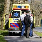 Wielrenner gewond na aanrijding met auto in Aerdenhout