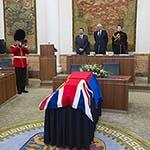 Overdracht stoffelijke resten 'Engelse soldaat' aan Groot-Brittannië