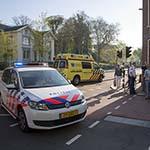 Vrouw gewond na botsing op de Kruisweg in Haarlem