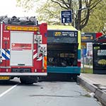 Problemen met bus op de Schipholweg in Haarlem