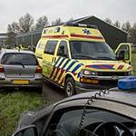 Vrouw gewond bij kop-staart aanrijding op de Schipholweg