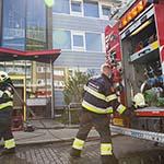 Keukenbrandje in flatwoning aan de Bleriotlaan in Beverwijk