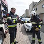 Stekkerblok vliegt in de brand aan De Sluistocht in Velserbroek