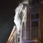 Uitslaande woningbrand aan Westergracht in Haarlem
