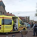 Bromfietser gewond na aanrijding met auto in IJmuiden