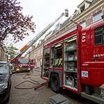CV ketel in de brand gevlogen in de Schermerstraat in Haarlem