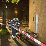 Brand in woning aan de Prins Bernardlaan in Haarlem