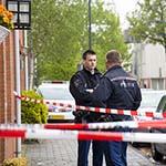 Onderzoek in woning aan de Teylerstraat in Haarlem