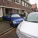 Inparkeren in de Van Wickevoort Crommelinstraat gaat niet helemaal goed