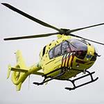 Traumahelikopter naar Lijnden voor incident in hotel