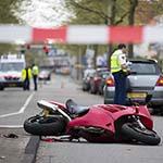 Motorrijder gewond bij zwaar ongeval op de Rijksstraatweg in Haarlem-Noord