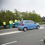 Man gewond bij ongeval op het Rotterpolderplein