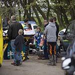 Twee gewonden bij ongeval op crossterrein De Kuil in Velsen-Noord