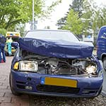 Vrouw gewond bij kettingbotsing op de Lanckhorstlaan in Heemstede
