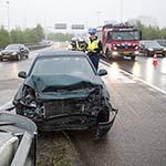 Man gewond na verkeersongeval op de Ceintuurbaan Noord op Schiphol