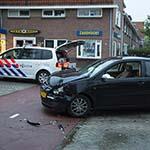 Veel schade na verkeersongeval op de Tolweg in Zandvoort