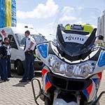 Vrouw gewond na aanrijding door bestelbusje in Zandvoort