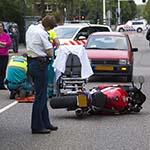 Motorrijder gewond na botsing met bromfietser op de Heemsteedse Dreef