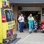 Man gestoken in motorzaak in Zwanenburg