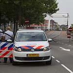 Zoekactie naar gestolen aanhanger in de Haarlemse Waarderpolder