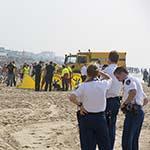 Zwemmer overleden op het strand van Zandvoort