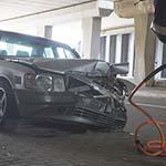 Twee gewonden bij aanrijding op de Spaarnwouderweg in Vijfhuizen