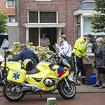 Snorfietser gewond na botsing met fietser op de Rijksstraatweg