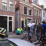 Fietsster gewond bij ongeval in het Klein Heiligland in Haarlem