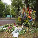 Bloemenzee voor doodgereden 51 jarige Haarlemse vrouw