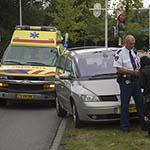 Fietsster gewond bij aanrijding bij de Johan Wagenaarlaan