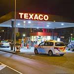 Texaco tankstation aan de Plesmanweg in Beverwijk overvallen