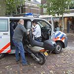 Bromfietser gewond na aanrijding met auto op de Binnenweg in Heemstede