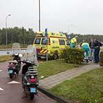 Man gewond bij ongeval op de Camera Obscuraweg in Haarlem