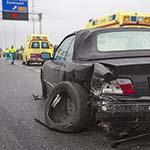 Veel overlast door verkeersongeval op de A9 bij het Rotterpolderplein