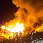 Grote brand bij strandpaviljoen Far Out in Zandvoort