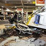 Ravage bij tankstation langs de A4 bij Hoofddorp