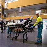 Ziekenhuis afgesloten door storm, patiënten overgeplaatst naar ander ziekenhuis