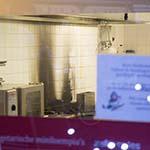 Brand in keuken van afhaalrestaurant aan de Pijlslaan