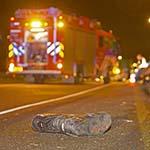 Motorrijder dodelijk verongelukt op de A9 bij Velserbroek