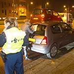 Kop-staart aanrijding met vier personenwagens in Heemstede