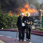 Grote uitslaande brand Westzanerdijk Zaandam