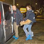 Bewoner ziekenhuis ingeslagen door inbrekers in Haarlem