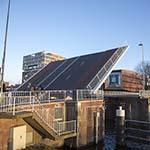 Prinsenbrug in het centrum van Haarlem gaat niet meer dicht