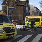 Fietsster ernstig gewond na aanrijding met auto in Heemstede